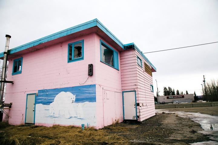 abandoned pink motel _2