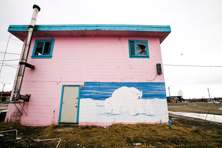 abandoned pink motel _4
