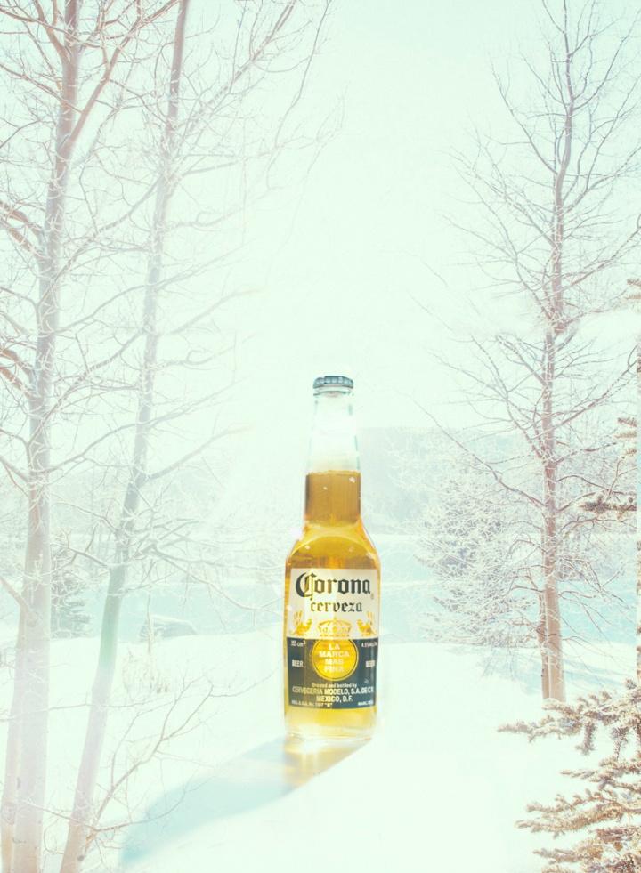 Punto para el invierno por mantenerla fria! #InviernoCorona