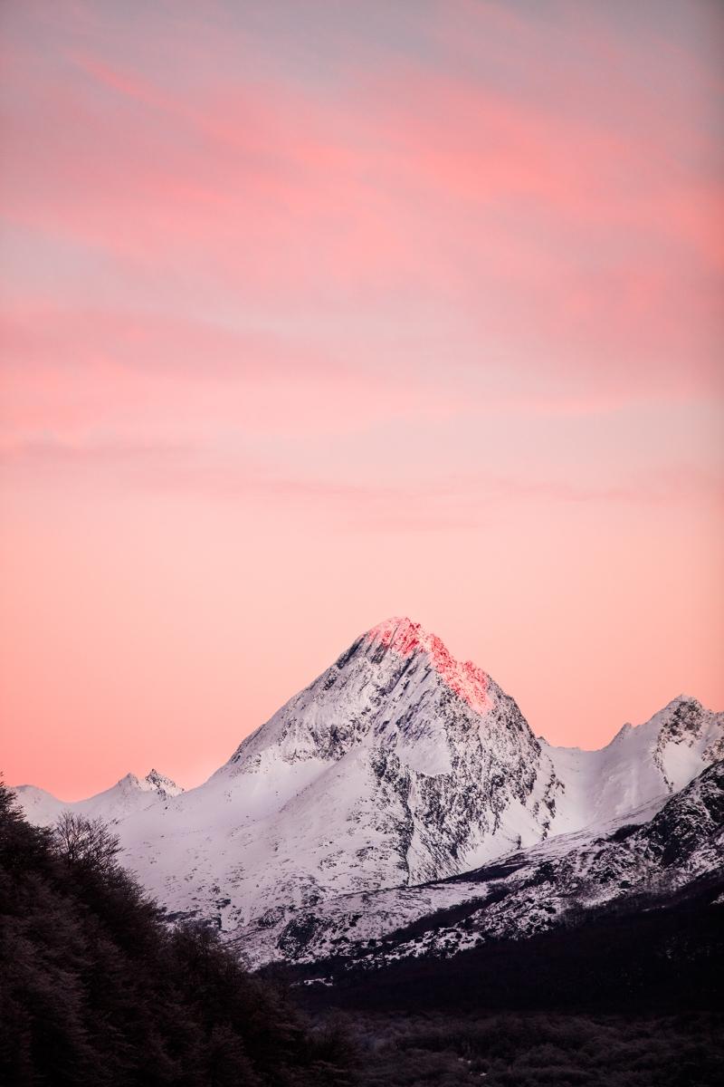 En el fin del mundo, Cerro Castor